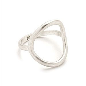 NWOT madewell ceremony circle ring